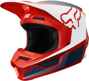 2019 Fox V1 Przm Helmet Navy/Red