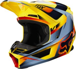 2019 Fox V1 Motif Helmet Yellow