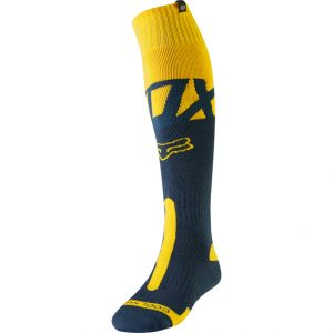 2019 Fox Coolmax Kila Thick Socks Navy/Yellow