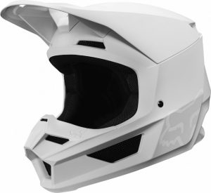 2019 Fox V1 Matte Helmet White