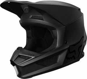 2019 Fox V1 YOUTH Matte Helmet Black