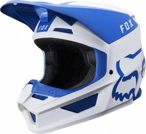 2019 Fox V1 Mata Helmet Blue/White