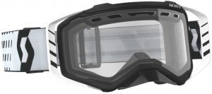 2019 Scott Prospect Enduro Goggle Black/White – Clear Lens