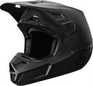 2019 Fox V2 Matte Helmet Black