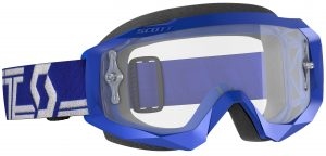 2019 Scott Hustle Goggle Blue/White – Clear Lens