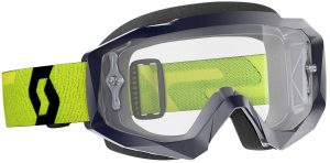 2019 Scott Hustle Goggle Yellow/Blue – Clear Lens