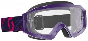 2019 Scott Hustle Goggle Purple/Pink – Clear Lens