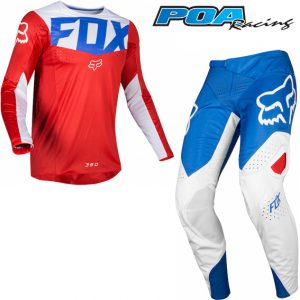 2019 Fox 360 Kila Kit Combo Blue/Red