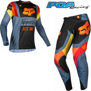 2019 Fox 360 YOUTH Murc Kit Combo Blue Steel