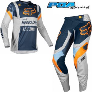 2019 Fox 360 YOUTH Murc Kit Combo Light Grey