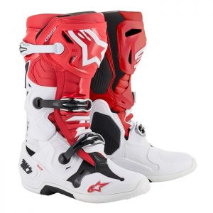 2019 Alpinestars Tech 10 Boot Red/White/Black