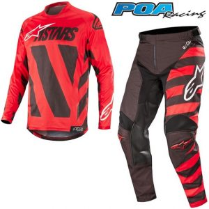 2019 Alpinestars Racer Braap Kit Combo Black/Red/White