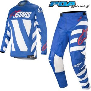2019 Alpinestars Racer Braap Kit Combo Blue/White/Red