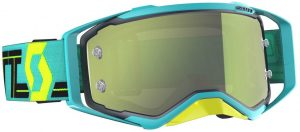 2019 Scott Prospect Goggle Blue/Teal – Yellow Chrome Lens