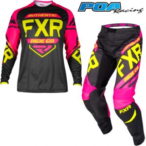 2019 FXR Clutch Retro Kit Combo Black/Fuchsia/Hi-Vis