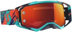 2019 Scott Prospect Goggle Blue/Orange – Orange Chrome Lens