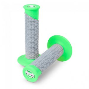 Pro Taper Clamp On Pillow Top Grip Neon Green/Grey