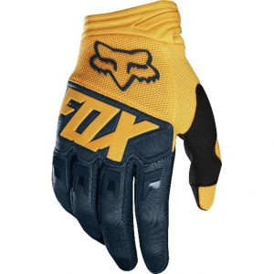 2019 Fox Dirtpaw Race Glove Navy/Yellow