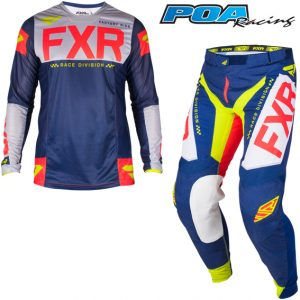2019 FXR Helium Kit Combo Navy/Lt Grey/Red/Hi-Vis