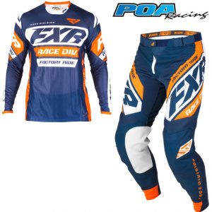 2019 FXR Revo Kit Combo Dark Navy/White/Orange