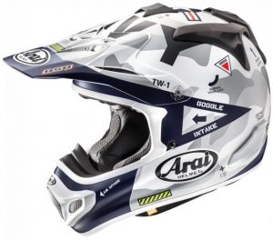 2019 Arai MX-V Navy Helmet Blue