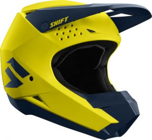2019 Shift WHIT3 Label Helmet Yellow/Navy