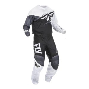 2019 Fly F-16 YOUTH Kit Combo Black/White/Grey