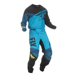 2019 Fly F-16 YOUTH Kit Combo Blue/Black/Hi-Viz