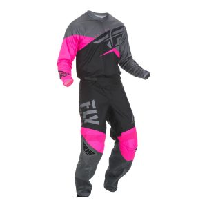 2019 Fly F-16 YOUTH Kit Combo Neon Pink/Black/Grey