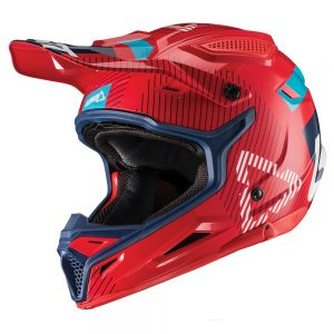 2019 Leatt GPX 4.5 V19.2 Helmet Red/Ink