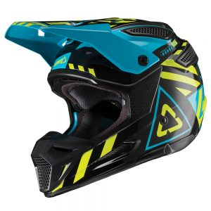 2019 Leatt GPX 5.5 V19.1 Helmet Black/Lime