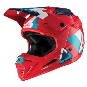 2019 Leatt GPX 5.5 V19.1 Helmet Red/Teal