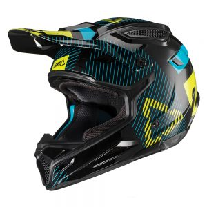 2019 Leatt YOUTH GPX 4.5 V19.2 Helmet Black/Lime