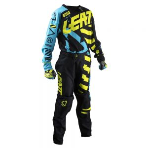 2019 Leatt YOUTH GPX 3.5 Kit Combo Black/Lime
