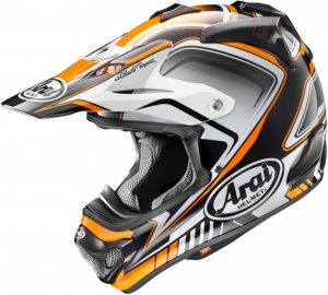Arai MX-V Speedy Helmet Orange