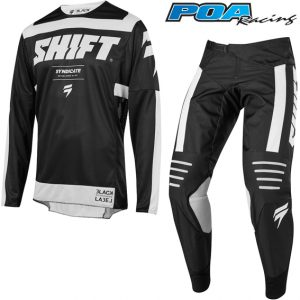 2019 Shift 3LACK Label Strike Combo Black/White