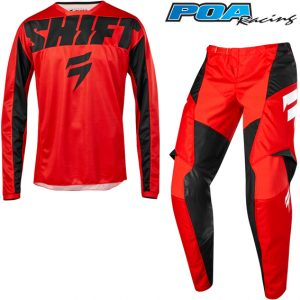 2019 Shift WHIT3 York Kit Combo Red