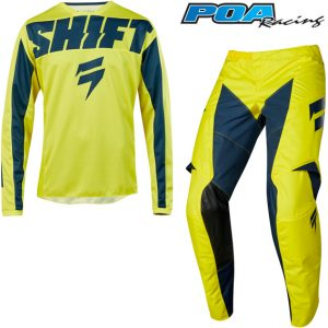 2019 Shift WHIT3 York Kit Combo Yellow/Navy
