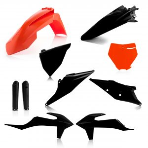 Acerbis Plastic Kit 2019 KTM SX125/250 – SXF250/350/450 Black/Orange