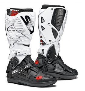 2019 Sidi Crossfire 3 SRS Boots Black/White