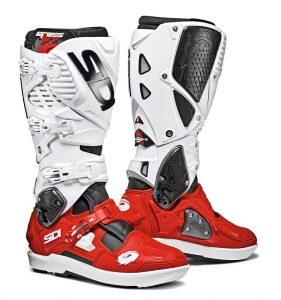 2019 Sidi Crossfire 3 SRS Boots Black/Red/White