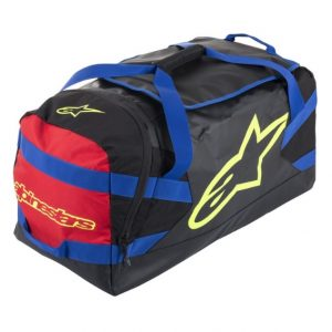 Alpinestars Goanna Duffle Bag Black/Blue/Red/Yellow Fluo