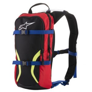 Alpinestars Iguana Hydration Back Pack Black/Blue/Red/Yellow Fluo