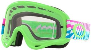 Oakley O Frame Goggle Breaking Bumps Green/Pink – Clear Lens