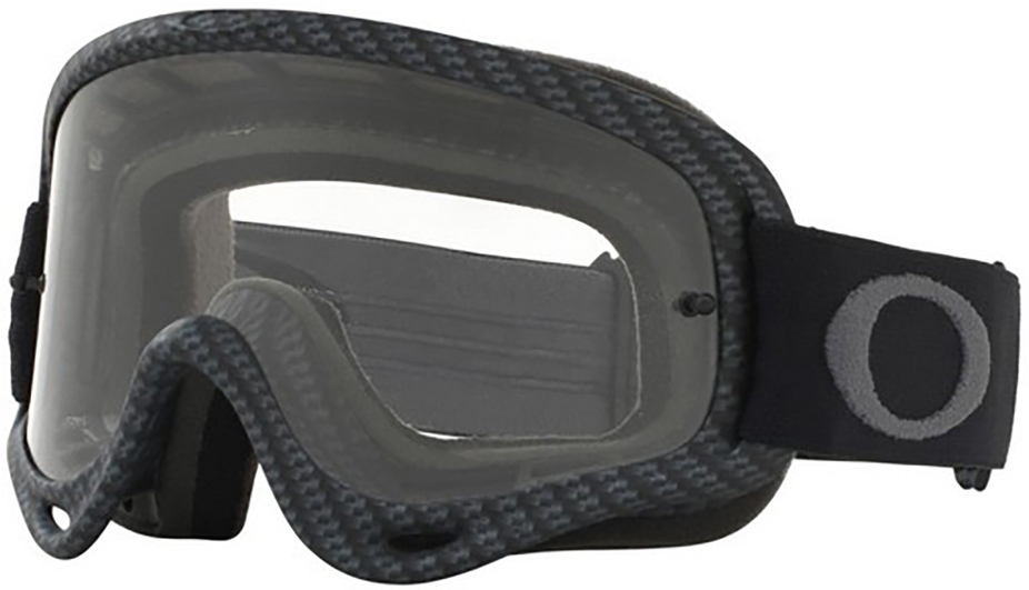 8ab0a526462 Oakley XS O Frame YOUTH Goggle Matte Carbon Fibre - Clear Lens