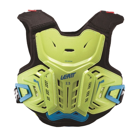 Leatt 2. 5 junior youth chest protector lime/blue - chest protector 2. 5 lime blue jr 1
