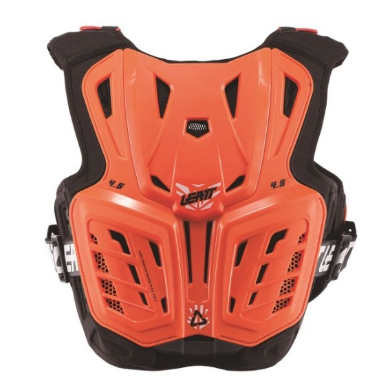 Leatt 4.5 Youth Chest Protector Orange - chest protector 4.5 orange white jr 2 1