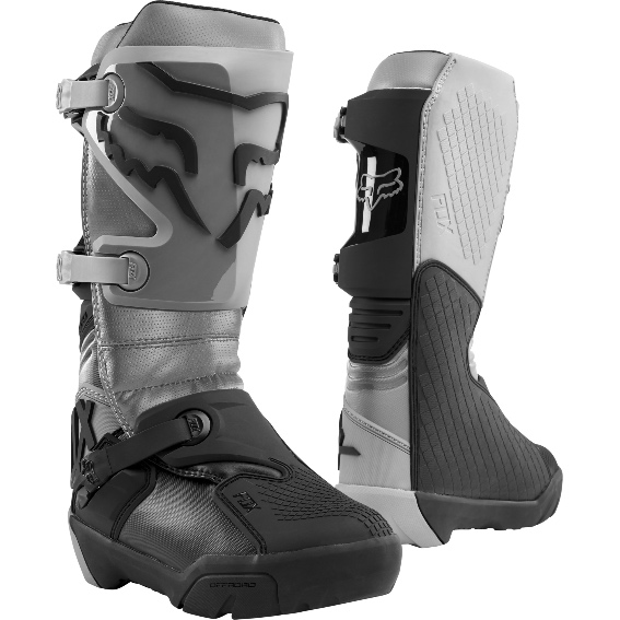 Fox Comp X Enduro Boot Grey - 24012 006 1