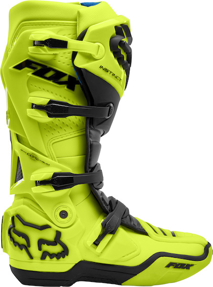 Fox instinct boot fluorescent yellow - 24448 130 2