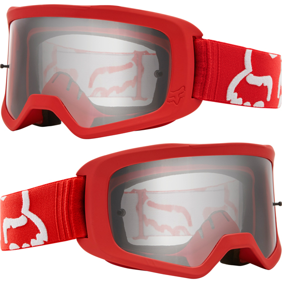 a few days away cute best wholesaler 2020 Fox Main II Race YOUTH Goggle Red - Clear Lens